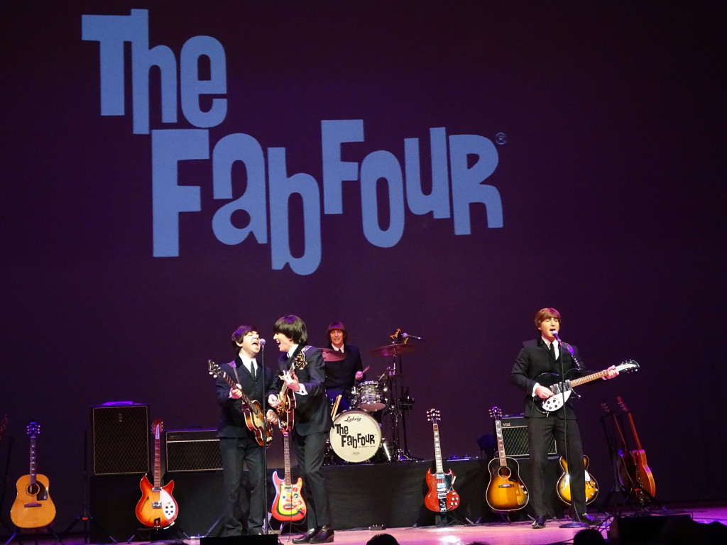 The Fab Four bringing the early Beatles to life in 2019.