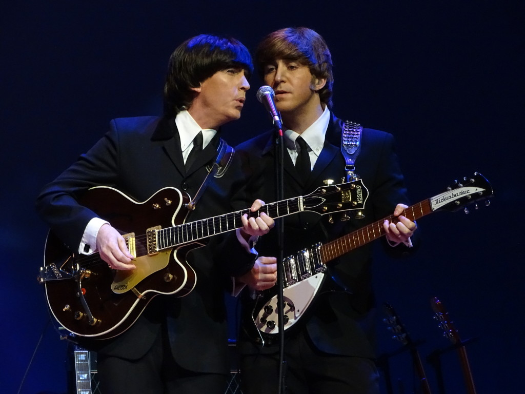 """Gavin Pring and Adam Hastings exuding the aura of Harrison and Lennon, the two """"Passed Masters."""""""