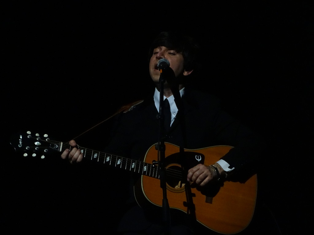"""""""Paul"""" bringing """"Yesterday"""" -- both the song and the era -- to life for the crowd."""