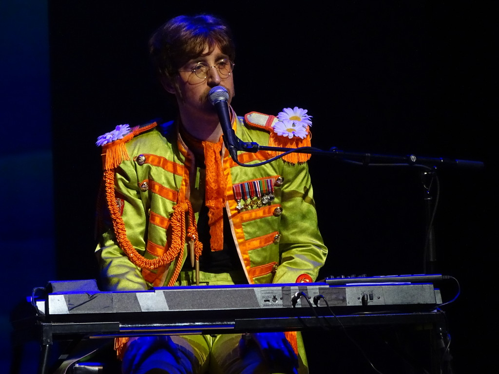"""Lennon lookalike Adam Hastings making the fans' day with """"A Day In The Life."""""""